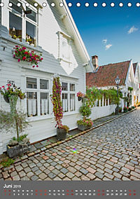 Norwegen - Altstadt Gamle Stavanger (Tischkalender 2019 DIN A5 hoch) - Produktdetailbild 6