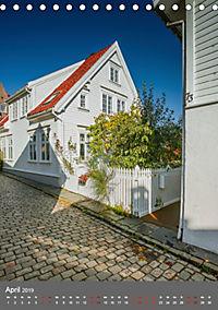 Norwegen - Altstadt Gamle Stavanger (Tischkalender 2019 DIN A5 hoch) - Produktdetailbild 4
