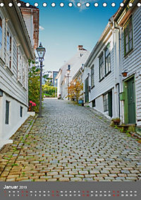 Norwegen - Altstadt Gamle Stavanger (Tischkalender 2019 DIN A5 hoch) - Produktdetailbild 1