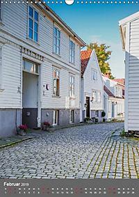 Norwegen - Altstadt Gamle Stavanger (Wandkalender 2019 DIN A3 hoch) - Produktdetailbild 2