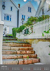 Norwegen - Altstadt Gamle Stavanger (Wandkalender 2019 DIN A3 hoch) - Produktdetailbild 7