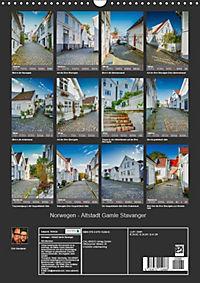 Norwegen - Altstadt Gamle Stavanger (Wandkalender 2019 DIN A3 hoch) - Produktdetailbild 13