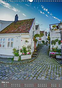 Norwegen - Altstadt Gamle Stavanger (Wandkalender 2019 DIN A3 hoch) - Produktdetailbild 5