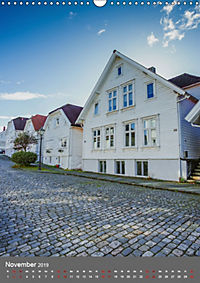 Norwegen - Altstadt Gamle Stavanger (Wandkalender 2019 DIN A3 hoch) - Produktdetailbild 11