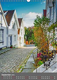 Norwegen - Altstadt Gamle Stavanger (Wandkalender 2019 DIN A3 hoch) - Produktdetailbild 9