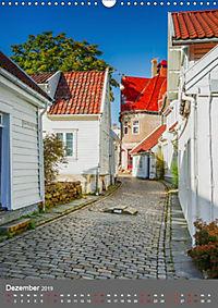Norwegen - Altstadt Gamle Stavanger (Wandkalender 2019 DIN A3 hoch) - Produktdetailbild 12