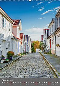 Norwegen - Altstadt Gamle Stavanger (Wandkalender 2019 DIN A2 hoch) - Produktdetailbild 10