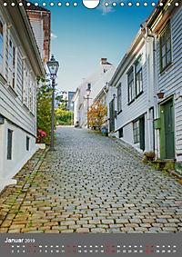 Norwegen - Altstadt Gamle Stavanger (Wandkalender 2019 DIN A4 hoch) - Produktdetailbild 1