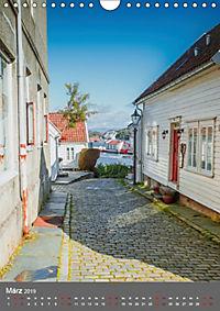 Norwegen - Altstadt Gamle Stavanger (Wandkalender 2019 DIN A4 hoch) - Produktdetailbild 3