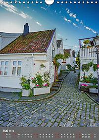 Norwegen - Altstadt Gamle Stavanger (Wandkalender 2019 DIN A4 hoch) - Produktdetailbild 5