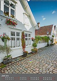Norwegen - Altstadt Gamle Stavanger (Wandkalender 2019 DIN A2 hoch) - Produktdetailbild 6