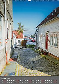 Norwegen - Altstadt Gamle Stavanger (Wandkalender 2019 DIN A2 hoch) - Produktdetailbild 3