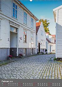 Norwegen - Altstadt Gamle Stavanger (Wandkalender 2019 DIN A2 hoch) - Produktdetailbild 2