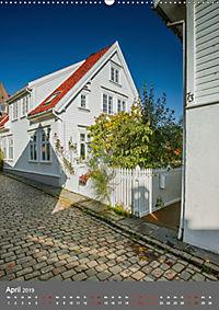Norwegen - Altstadt Gamle Stavanger (Wandkalender 2019 DIN A2 hoch) - Produktdetailbild 4