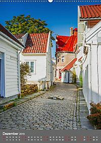 Norwegen - Altstadt Gamle Stavanger (Wandkalender 2019 DIN A2 hoch) - Produktdetailbild 12