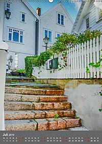Norwegen - Altstadt Gamle Stavanger (Wandkalender 2019 DIN A2 hoch) - Produktdetailbild 7