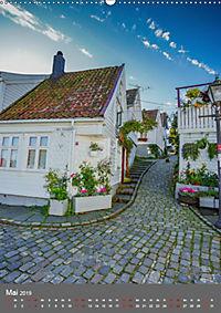 Norwegen - Altstadt Gamle Stavanger (Wandkalender 2019 DIN A2 hoch) - Produktdetailbild 5