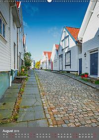Norwegen - Altstadt Gamle Stavanger (Wandkalender 2019 DIN A2 hoch) - Produktdetailbild 8