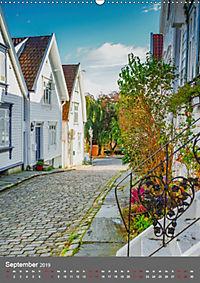 Norwegen - Altstadt Gamle Stavanger (Wandkalender 2019 DIN A2 hoch) - Produktdetailbild 9