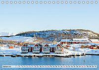 Norwegen auf Südkurs mit dem Postschiff (Tischkalender 2019 DIN A5 quer) - Produktdetailbild 1