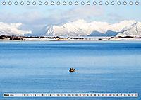 Norwegen auf Südkurs mit dem Postschiff (Tischkalender 2019 DIN A5 quer) - Produktdetailbild 3