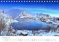Norwegen - der hohe Norden (Tischkalender 2019 DIN A5 quer) - Produktdetailbild 2