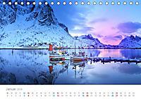 Norwegen - der hohe Norden (Tischkalender 2019 DIN A5 quer) - Produktdetailbild 1