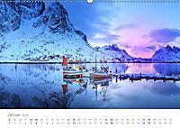 Norwegen - der hohe Norden (Wandkalender 2019 DIN A2 quer) - Produktdetailbild 1