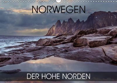 Norwegen - der hohe Norden (Wandkalender 2019 DIN A3 quer), Val Thoermer
