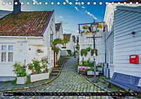 Norwegen - Die Altstadt von Stavanger (Tischkalender 2019 DIN A5 quer) - Produktdetailbild 4