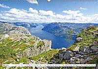 Norwegen: Fjorde, Wald und Mitternachtssonne (Wandkalender 2019 DIN A2 quer) - Produktdetailbild 5