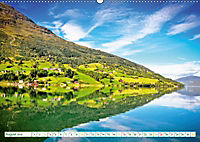 Norwegen: Fjorde, Wald und Mitternachtssonne (Wandkalender 2019 DIN A2 quer) - Produktdetailbild 8