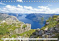 Norwegen: Fjorde, Wald und Mitternachtssonne (Tischkalender 2019 DIN A5 quer) - Produktdetailbild 5