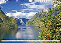 Norwegen: Fjorde, Wald und Mitternachtssonne (Wandkalender 2019 DIN A4 quer) - Produktdetailbild 9