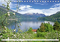 Norwegen: Fjorde, Wald und Mitternachtssonne (Tischkalender 2019 DIN A5 quer) - Produktdetailbild 3