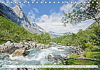 Norwegen: Fjorde, Wald und Mitternachtssonne (Tischkalender 2019 DIN A5 quer) - Produktdetailbild 4