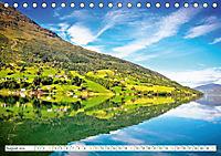 Norwegen: Fjorde, Wald und Mitternachtssonne (Tischkalender 2019 DIN A5 quer) - Produktdetailbild 8