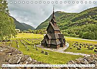 Norwegen: Fjorde, Wald und Mitternachtssonne (Tischkalender 2019 DIN A5 quer) - Produktdetailbild 7