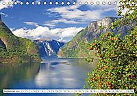 Norwegen: Fjorde, Wald und Mitternachtssonne (Tischkalender 2019 DIN A5 quer) - Produktdetailbild 9