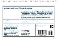 Norwegen: Fjorde, Wald und Mitternachtssonne (Tischkalender 2019 DIN A5 quer) - Produktdetailbild 13