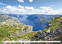 Norwegen: Fjorde, Wald und Mitternachtssonne (Wandkalender 2019 DIN A4 quer) - Produktdetailbild 5