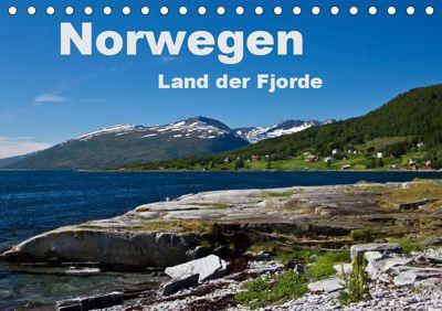 Norwegen - Land der Fjorde (Tischkalender 2019 DIN A5 quer), Anja Ergler