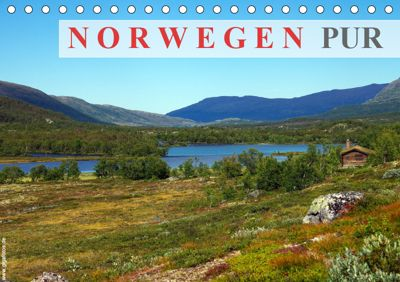 Norwegen PUR (Tischkalender 2019 DIN A5 quer), Werner Prescher