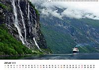 Norwegen PUR (Wandkalender 2019 DIN A2 quer) - Produktdetailbild 1