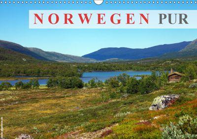 Norwegen PUR (Wandkalender 2019 DIN A3 quer), Werner Prescher
