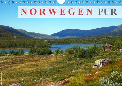 Norwegen PUR (Wandkalender 2019 DIN A4 quer), Werner Prescher