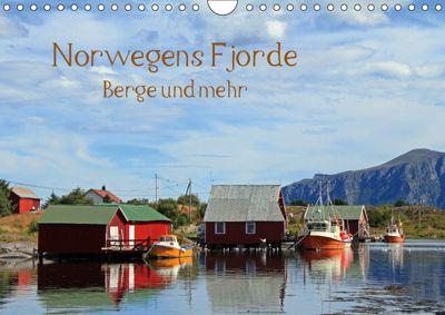 Norwegens Fjorde, Berge und mehr (Wandkalender 2019 DIN A4 quer), Gerhard Albicker