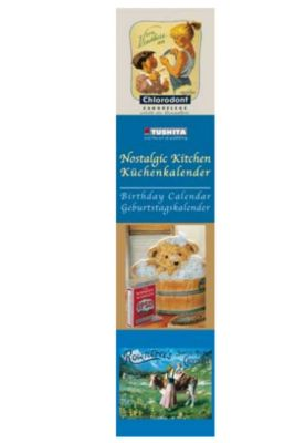 Nostalgic Kitchen, Birthday Calendar; Küchenkalender, Geburtstagskalender