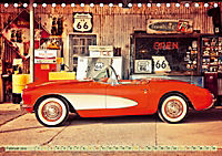 Nostalgie auf 2451 Meilen - Route 66 (Tischkalender 2019 DIN A5 quer) - Produktdetailbild 2