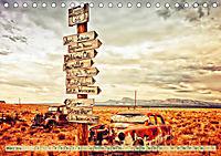 Nostalgie auf 2451 Meilen - Route 66 (Tischkalender 2019 DIN A5 quer) - Produktdetailbild 3